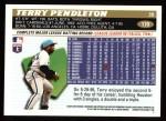 1996 Topps #170  Terry Pendleton  Back Thumbnail