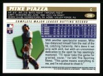 1996 Topps #246  Mike Piazza  Back Thumbnail