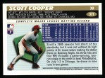 1996 Topps #371  Scott Cooper  Back Thumbnail