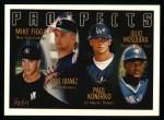 1996 Topps #432   -  Mike Figga / Raul Ibanez / Paul Konerko / Julio Mosquera Prospects Front Thumbnail