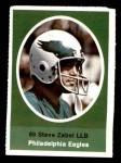 1972 Sunoco Stamps  Steve Zabel  Front Thumbnail