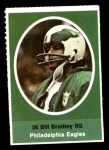 1972 Sunoco Stamps  Bill Bradley  Front Thumbnail