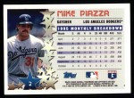 1996 Topps #2   -  Mike Piazza Star Power Back Thumbnail