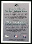 1996 Topps #103   -  Chris Pritchett / Trenidad Hubbard AAA Stars Back Thumbnail