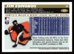 1996 Topps #171  Jim Edmonds  Back Thumbnail