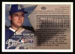 1996 Topps #217  Karim Garcia  Back Thumbnail