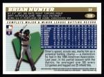 1996 Topps #268  Brian L. Hunter  Back Thumbnail