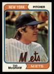 1974 Topps #265  Tug McGraw  Front Thumbnail