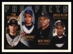 1996 Topps #427  Neifi Perez / Enrique Wilson  Front Thumbnail