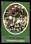 1972 Sunoco Stamps  Rick Arrington  Front Thumbnail