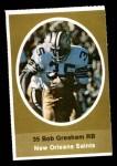 1972 Sunoco Stamps  Bob Gresham  Front Thumbnail