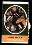 1972 Sunoco Stamps  Doug Hart  Front Thumbnail