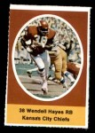 1972 Sunoco Stamps  Wendell Hayes  Front Thumbnail