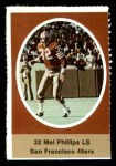 1972 Sunoco Stamps  Mel Phillips  Front Thumbnail