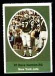 1972 Sunoco Stamps  Dave Herman  Front Thumbnail