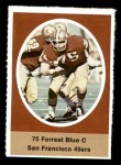 1972 Sunoco Stamps  Forrest Blue  Front Thumbnail