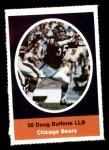 1972 Sunoco Stamps  Doug Buffone  Front Thumbnail