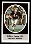 1972 Sunoco Stamps  Marv Hubbard  Front Thumbnail
