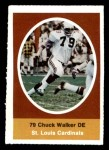 1972 Sunoco Stamps  Chuck Walker  Front Thumbnail