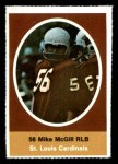 1972 Sunoco Stamps  Mike McGill  Front Thumbnail