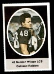 1972 Sunoco Stamps  Nemiah Wilson  Front Thumbnail