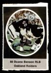 1972 Sunoco Stamps  Duane Benson  Front Thumbnail