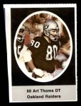 1972 Sunoco Stamps  Art Thoms  Front Thumbnail