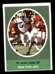 1972 Sunoco Stamps  John Little  Front Thumbnail