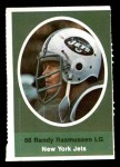 1972 Sunoco Stamps  Randy Rasmussen  Front Thumbnail