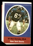 1972 Sunoco Stamps  Ron Hornsby  Front Thumbnail