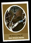 1972 Sunoco Stamps  Dave Long  Front Thumbnail