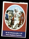 1972 Sunoco Stamps  Ed Weisacosky  Front Thumbnail
