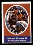 1972 Sunoco Stamps  Dennis Wirgowski  Front Thumbnail