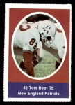 1972 Sunoco Stamps  Tom Beer  Front Thumbnail