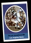 1972 Sunoco Stamps  Les Josephson  Front Thumbnail