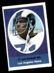 1972 Sunoco Stamps  Joe Scibelli  Front Thumbnail