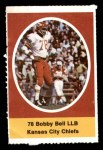 1972 Sunoco Stamps  Bobby Bell  Front Thumbnail
