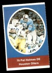 1972 Sunoco Stamps  Pat Holmes  Front Thumbnail
