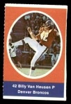1972 Sunoco Stamps  Billy Van Heusen  Front Thumbnail