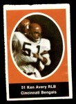 1972 Sunoco Stamps  Ken Avery  Front Thumbnail