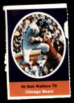 1972 Sunoco Stamps  Bob Wallace  Front Thumbnail