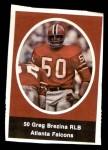 1972 Sunoco Stamps  Greg Brezina  Front Thumbnail