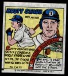 1979 Topps Comics #7  Rusty Staub  Front Thumbnail