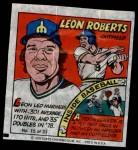 1979 Topps Comics #15  Leon Roberts  Front Thumbnail