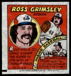 1979 Topps Comics #26  Ross Grimsley  Front Thumbnail
