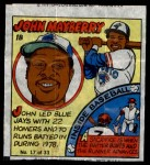 1979 Topps Comics #17  John Mayberry  Front Thumbnail