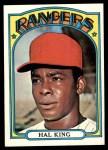 1972 Topps #598  Hal King  Front Thumbnail