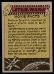 1977 Topps Star Wars #116   Honored for their heroism Back Thumbnail