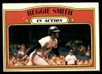 1972 Topps #566   -  Reggie Smith In Action Front Thumbnail
