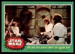 1977 Topps Star Wars #216   Han and Leia quarrel Front Thumbnail